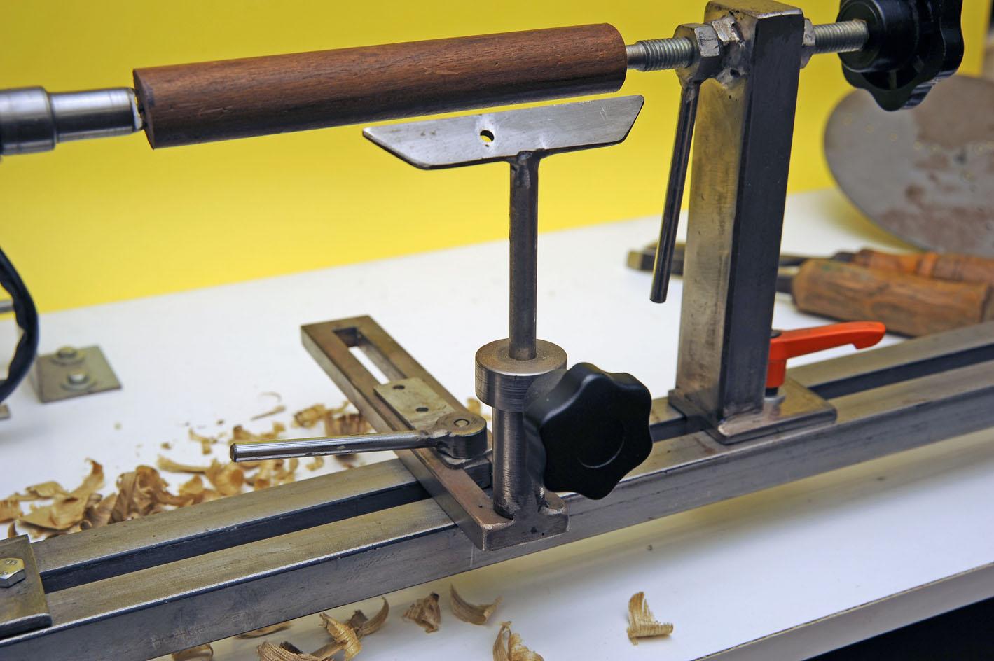 Tornietto per legno for Costruire un tornio per legno