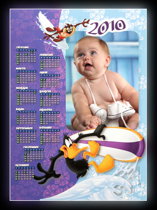 Calendario Con Foto Personali.Calendario Foglio Singolo Giuseppe