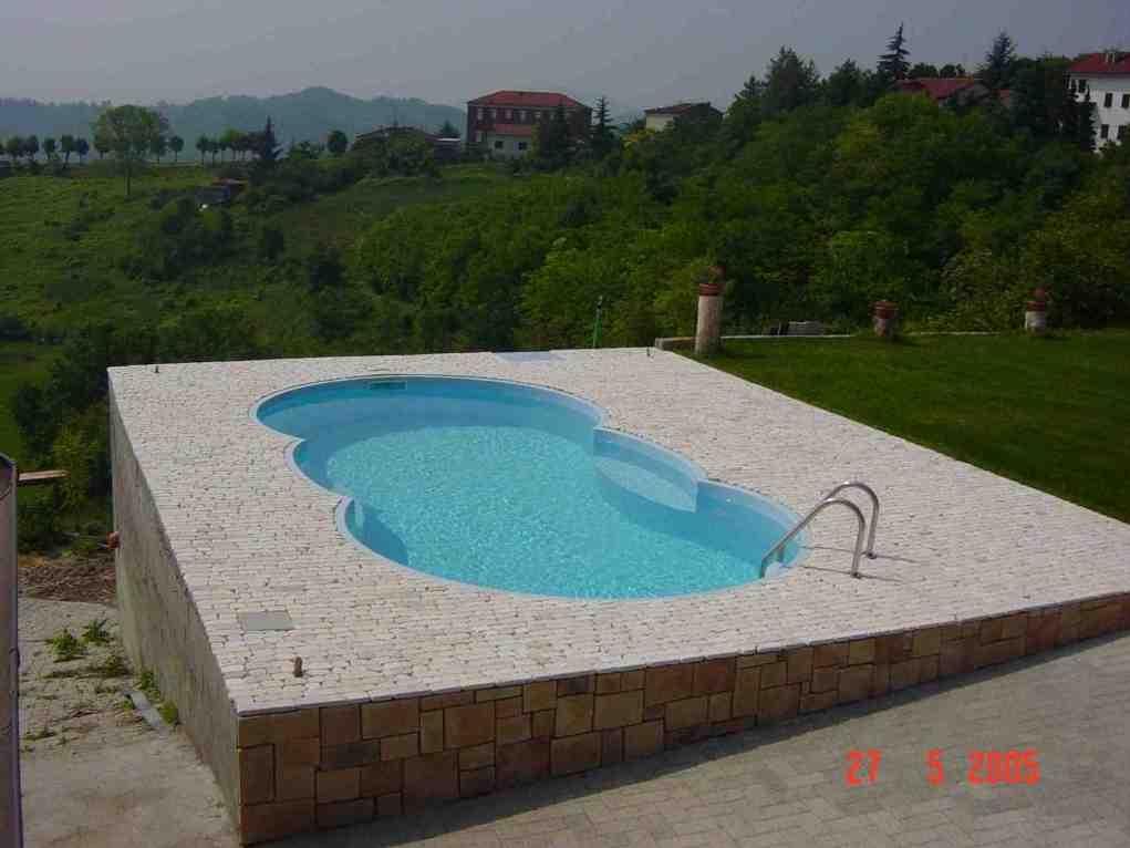 Piscine da interro cheminfaisant for Interrare piscina intex