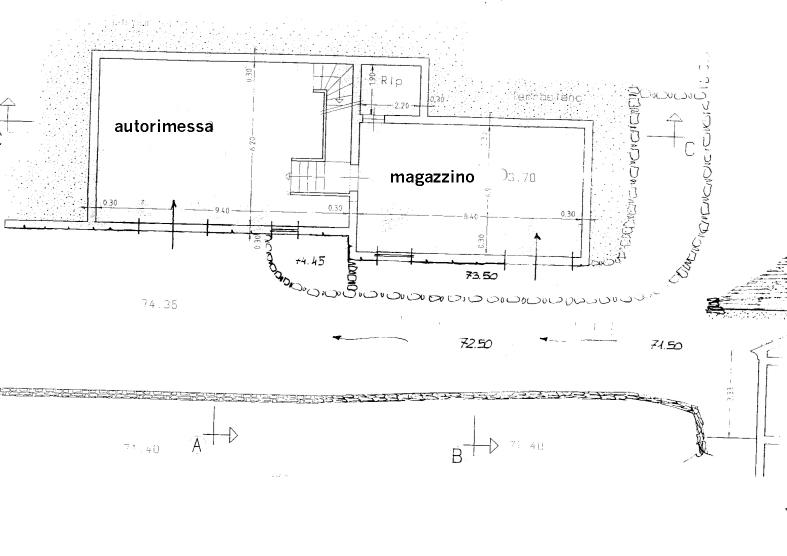 Villa indipendente in fase di costruzione for Piano seminterrato