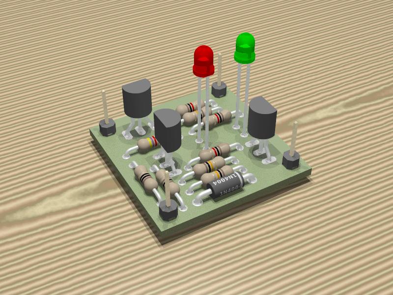 Schema Elettrico Per Carica Batterie Al Litio : Indicatore di fine carica