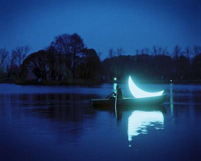 Buonanotte Luna Su Le Ragioni Del Mare