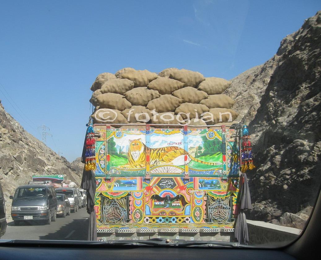 traffic jam afghanistan