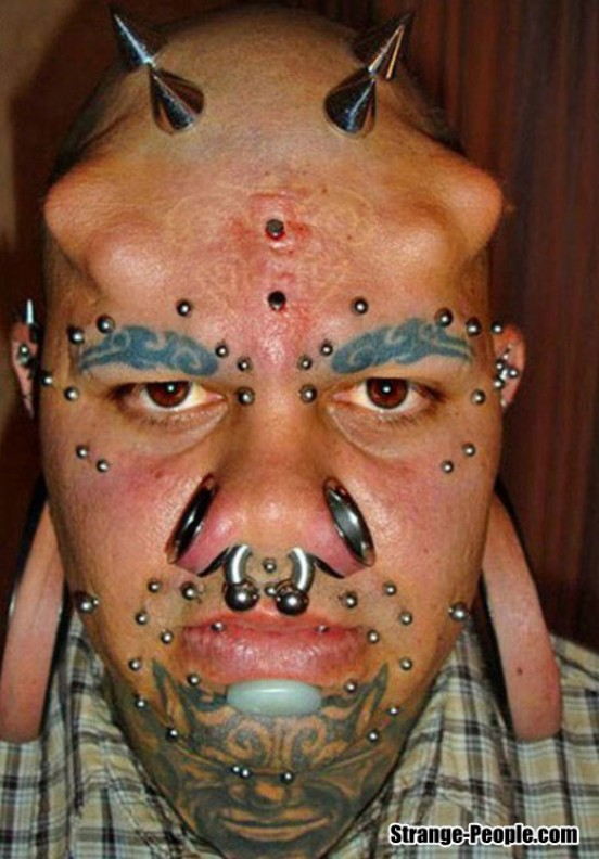 faccia tatoo extr