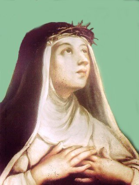 La Gloria dei beati - Santa Caterina da Siena
