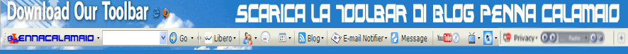 Blog Penna Calamaio Toolbar