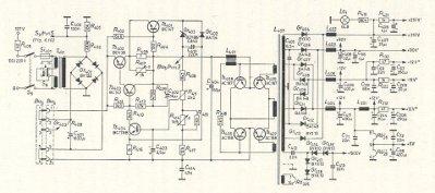 Schema elettrico oscilloscopio
