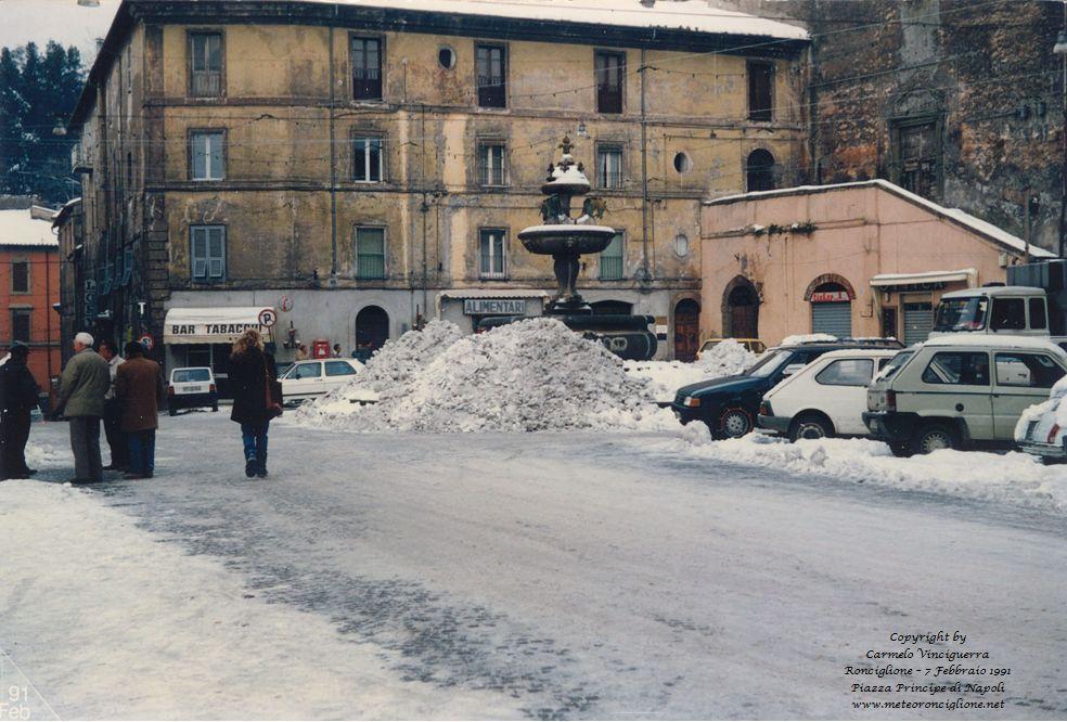 7 Febbraio 1991 - Ronciglione