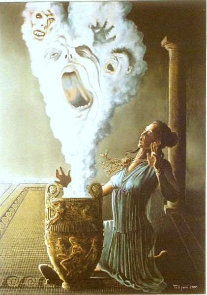 Mito di pandora su pensieri di vita for Mito vaso di pandora