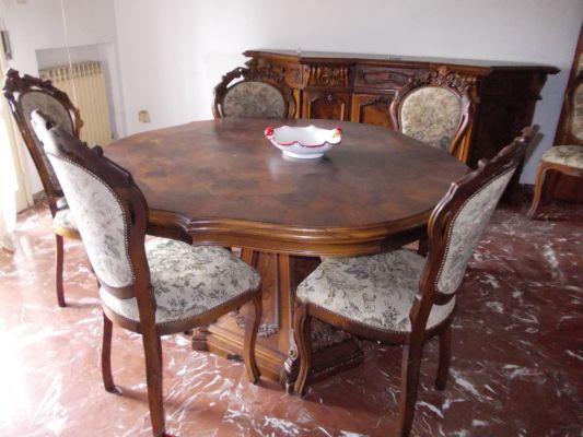 Soggiorno in stile classico su bazard - Subito it tavoli e sedie usate ...
