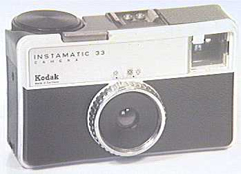 kodak instamatic 33 (this one's made in england, mine's actually made in germany)