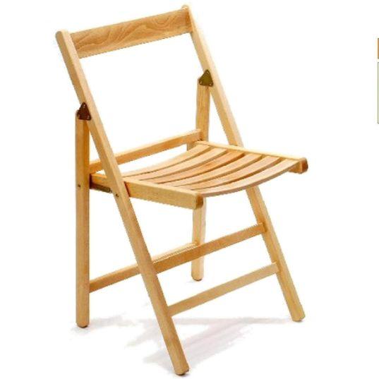 Dettagli su m 4 sedie pieghevole legno servizio campeggio tavolo