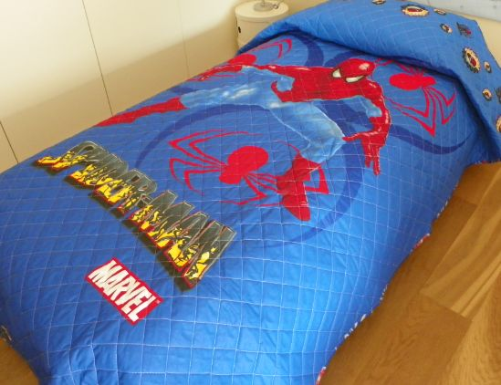 Mm trapuntino spiderman autunnale sottile letto - Letto di spiderman ...