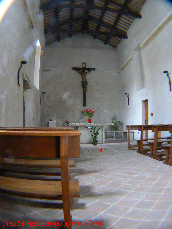 San Pietro Episcopio Interno