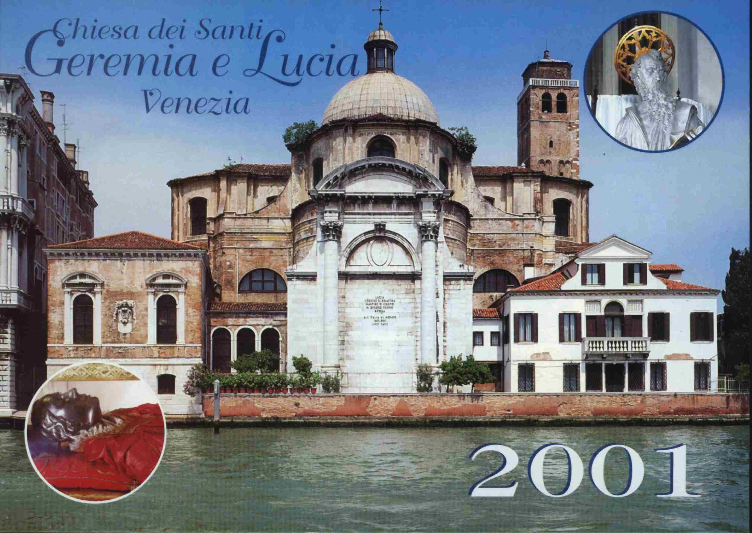 CHIESA SANTI GEREMIA E LUCIA - VENEZIA ITALIA