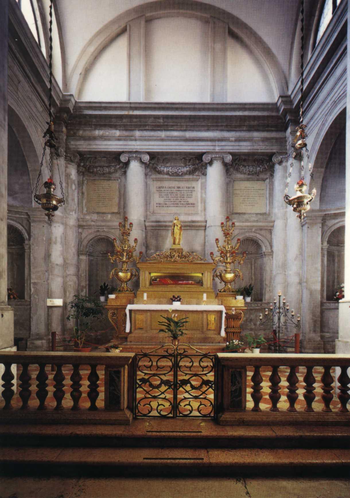 Cappella del Santuario di S. Lucia