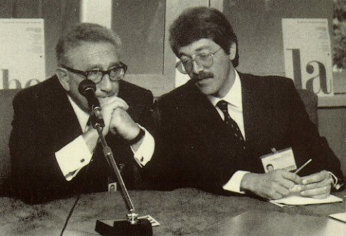 Interpreter of Dr. Henry Kissinger , Secretary of State of President