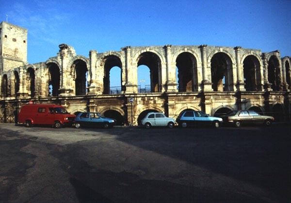 Arles France Theatres Amphitheatres Stadiums Odeons