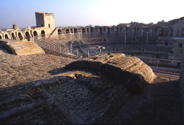 Arles France Theatres Amphitheatres Stadiums Odeons