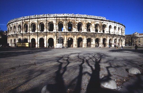 Nimes France Theatres Amphitheatres Stadiums Odeons