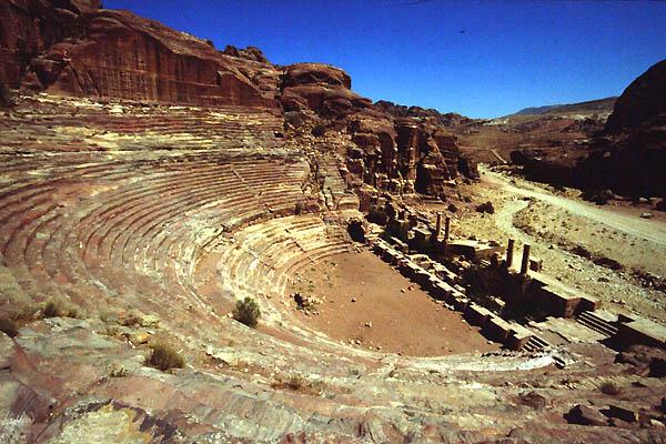 Petra Jordan Theatres Amphitheatres Stadiums Odeons