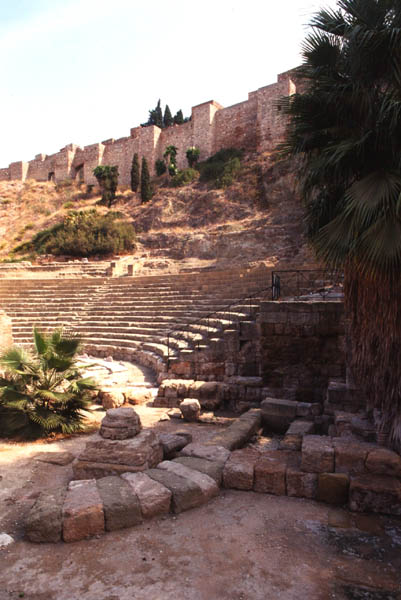 Malaga Spain Theatres Amphitheatres Stadiums Odeons