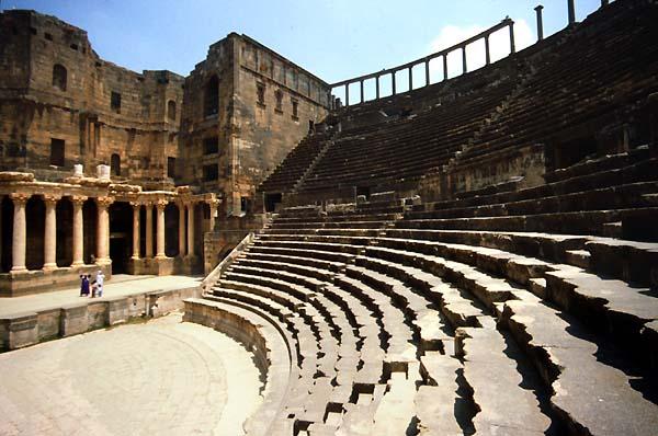 Bosra Syria Siria Theatres Amphitheatres Stadiums Odeons