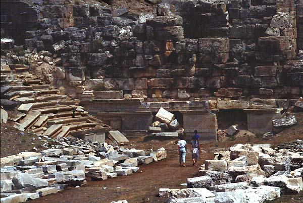 Aizanoi Aizani Turkey Turchia Theatres Amphitheatres