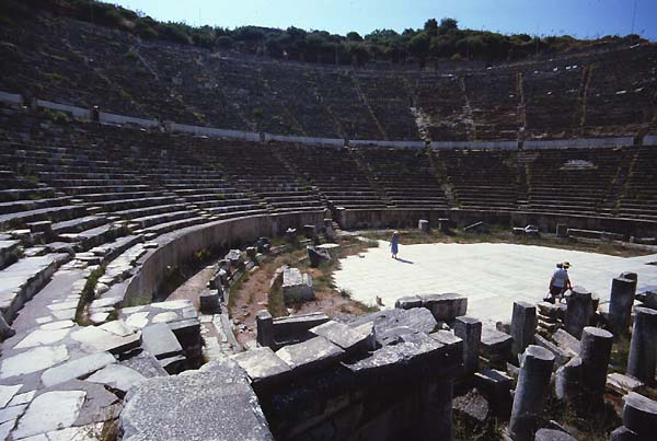 Efeso Turkey Theatres Amphitheatres Stadiums Odeons