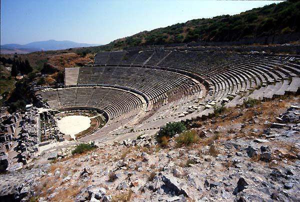 Efeso,Turkey,Theatres,Amphitheatres,Stadiums,Odeons ...