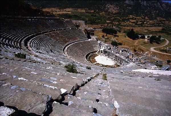 Efeso,Turkey,Theatres,Amphitheatres,Stadiums,Odeons -8224