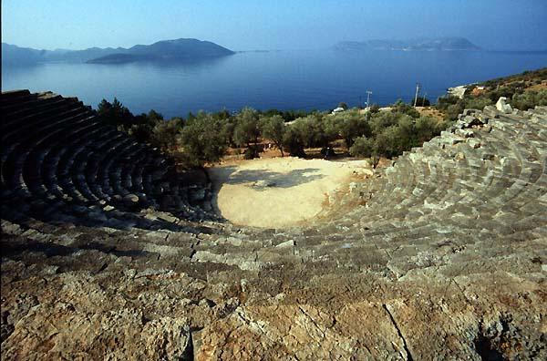 Kas Turkey Theatres Amphitheatres Stadiums Odeons Ancient