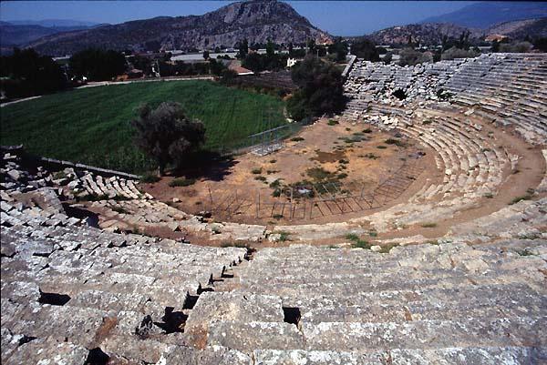 Latona Turkey Theatres Amphitheatres Stadiums Odeons