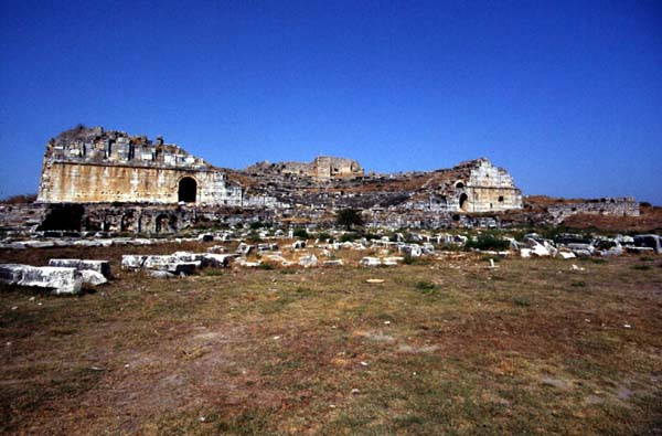 mileto turkey theatres amphitheatres stadiums odeons