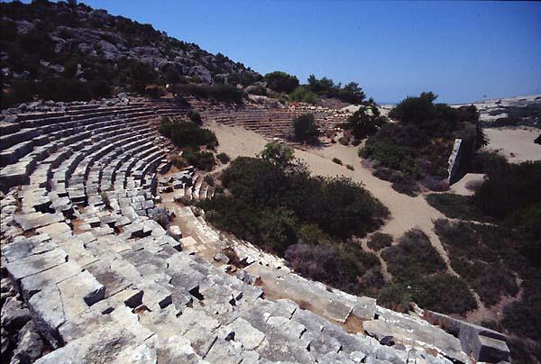 Patara Turkey Theatres Amphitheatres Stadiums Odeons