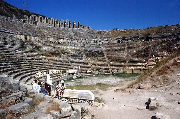 Perge,Turkey,Theatres,Amphitheatres,Stadiums,Odeons,Ancient,Greek,Roman,World,Teatri,Odeon -7283