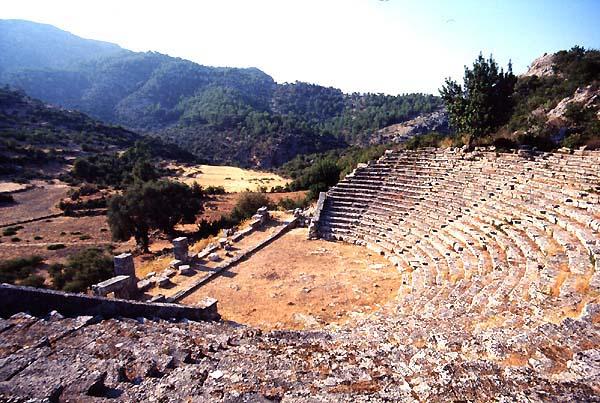 Pinara Turkey Theatres Amphitheatres Stadiums Odeons