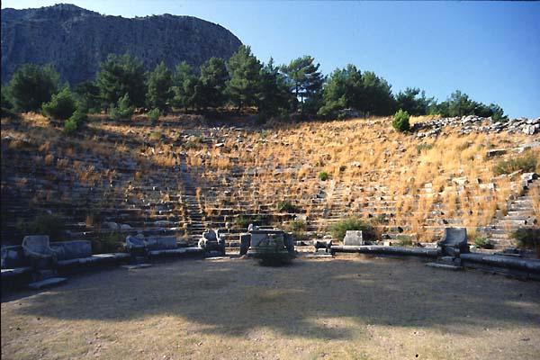 Pianta Architettura In Francese : Priene turkey theatres amphitheatres stadiums odeons