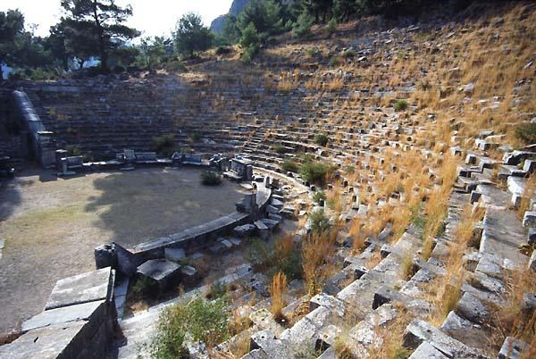 Priene Turkey Theatres Amphitheatres Stadiums Odeons