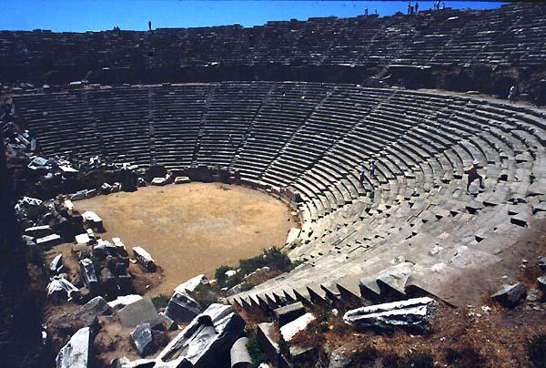 Side,Turkey,Theatres,Amphitheatres,Stadiums,Odeons,Ancient,Greek,Roman,World,Teatri,Odeon -9436
