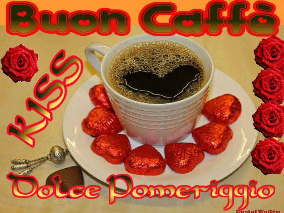 Eccezionale Che La Vita Continua: L'ORA DEL CAFFè - BUON POMERIGGIO - GIF  EW46