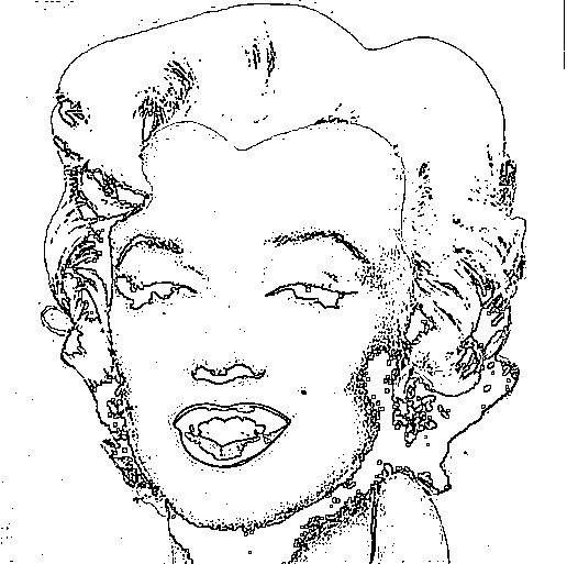 printable marilyn monroe coloring pages - photo#24