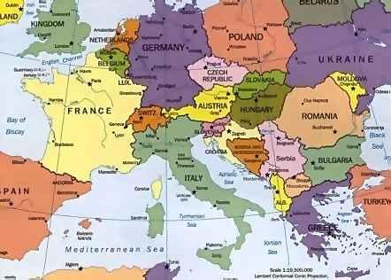 Cartina Europa 1938.Olocausto