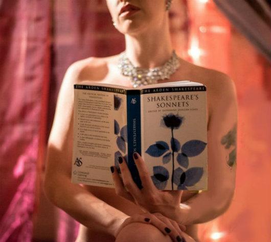 serate di poesia, senza veli