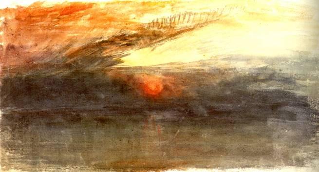 W.Turner - Tramonto