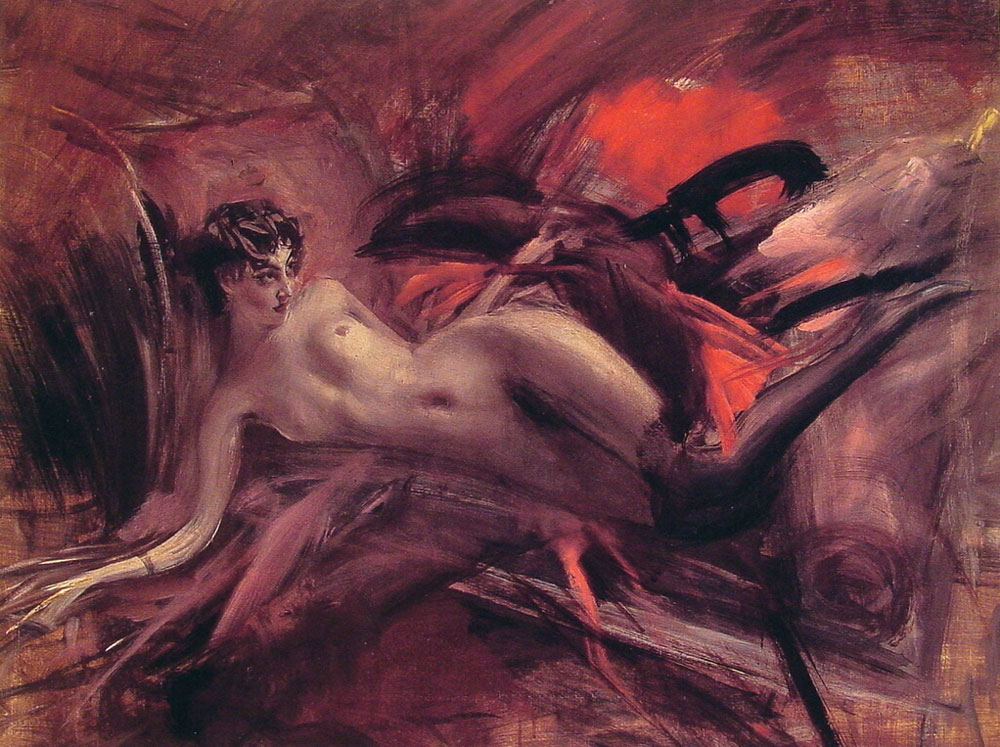 Giovanni Boldini - Nudo