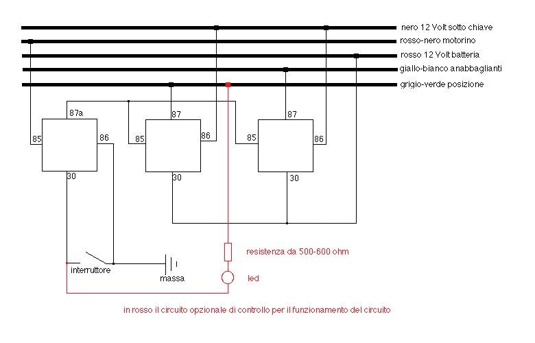 Schema Elettrico Opel Astra F : Interruttore luci opel astra