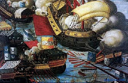 storia della battaglia di Lepanto