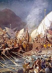 storia della battaglia navale di Salamina