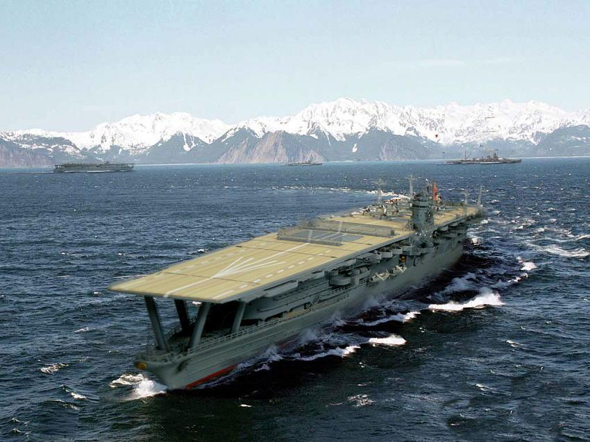 Image Japanese Aircraft Carrier Akagi Download